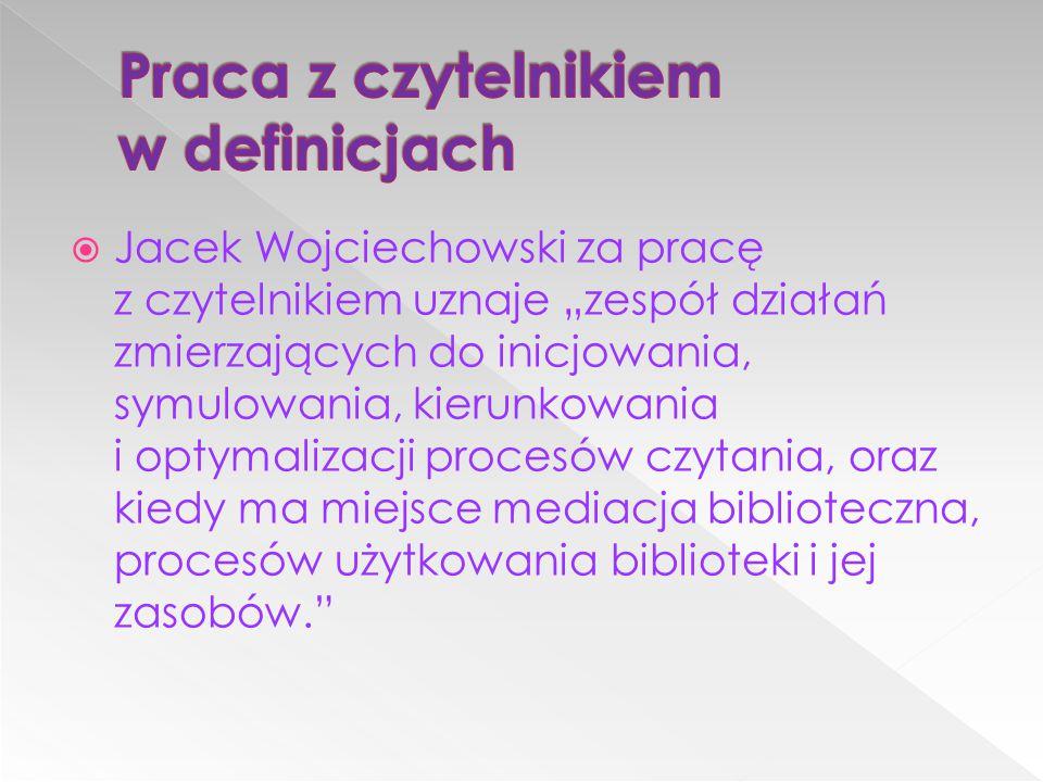 Praca z czytelnikiem w definicjach