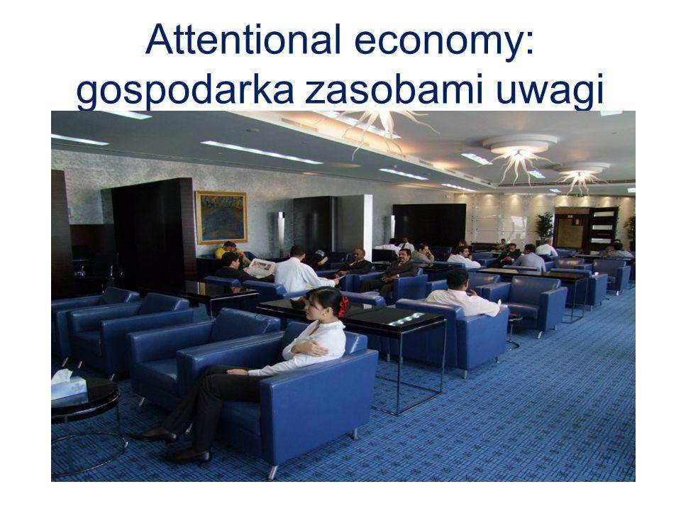 Attentional economy: gospodarka zasobami uwagi