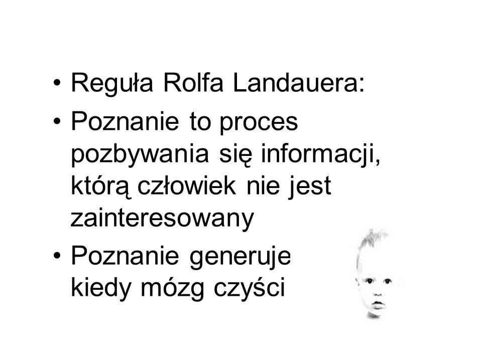 Reguła Rolfa Landauera: