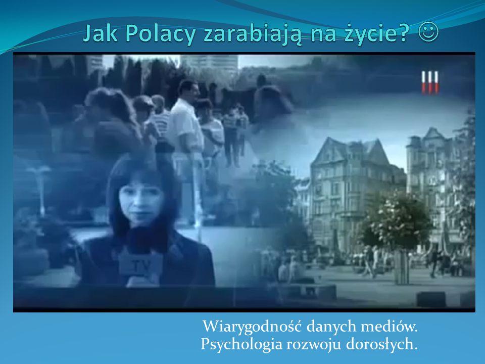 Jak Polacy zarabiają na życie 