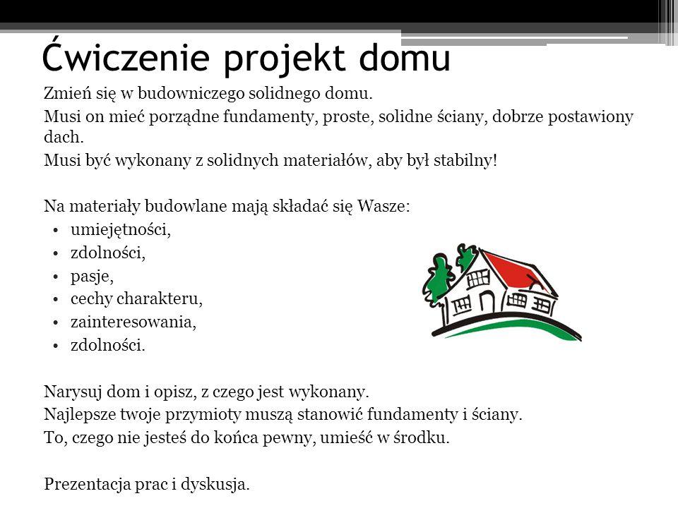 Ćwiczenie projekt domu