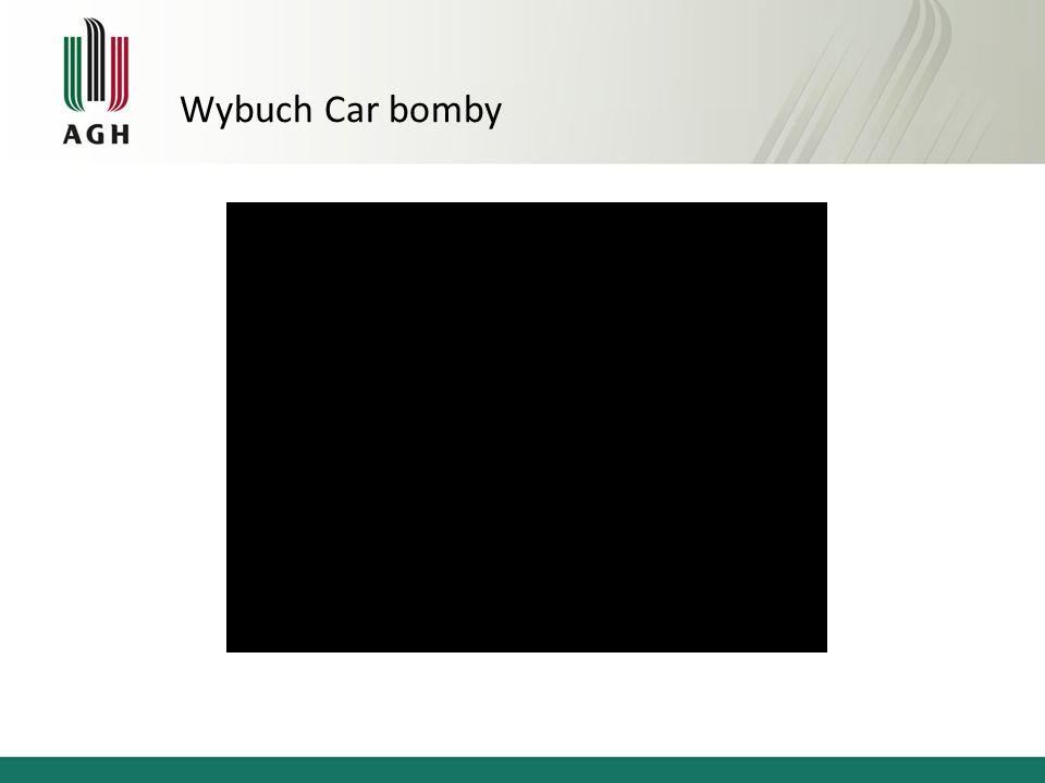 Wybuch Car bomby