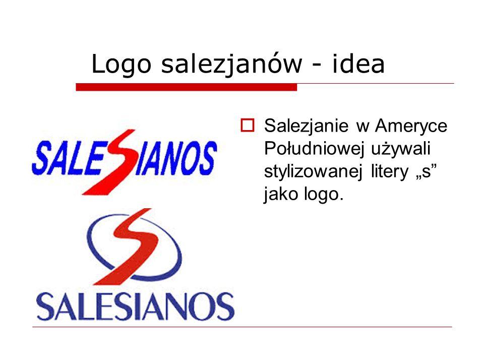 """Logo salezjanów - idea Salezjanie w Ameryce Południowej używali stylizowanej litery """"s jako logo."""