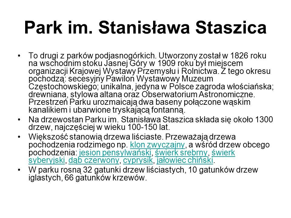 Park im. Stanisława Staszica