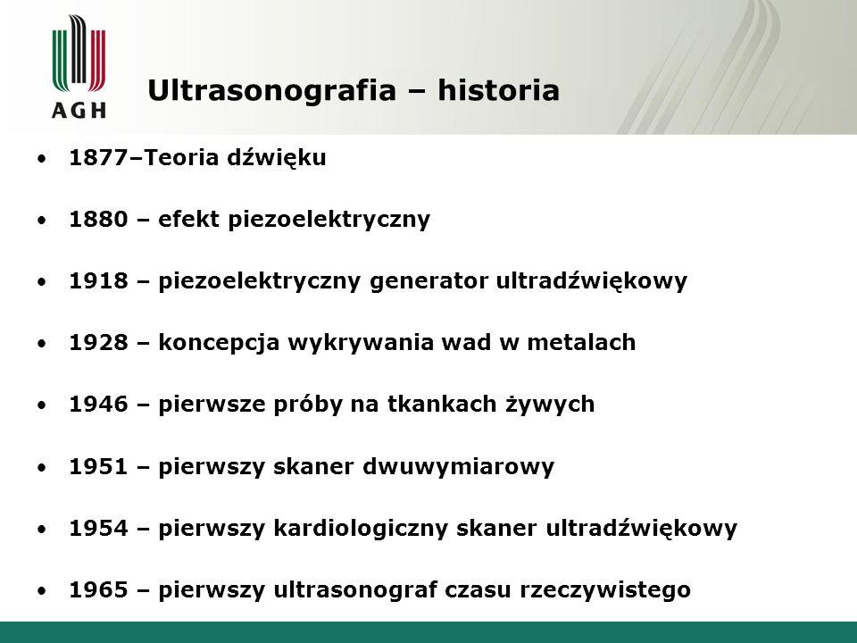 Ultrasonografia – historia