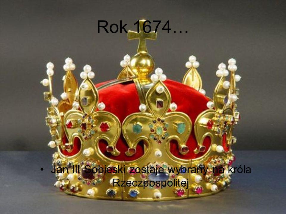Jan III Sobieski zostaje wybrany na króla Rzeczpospolitej