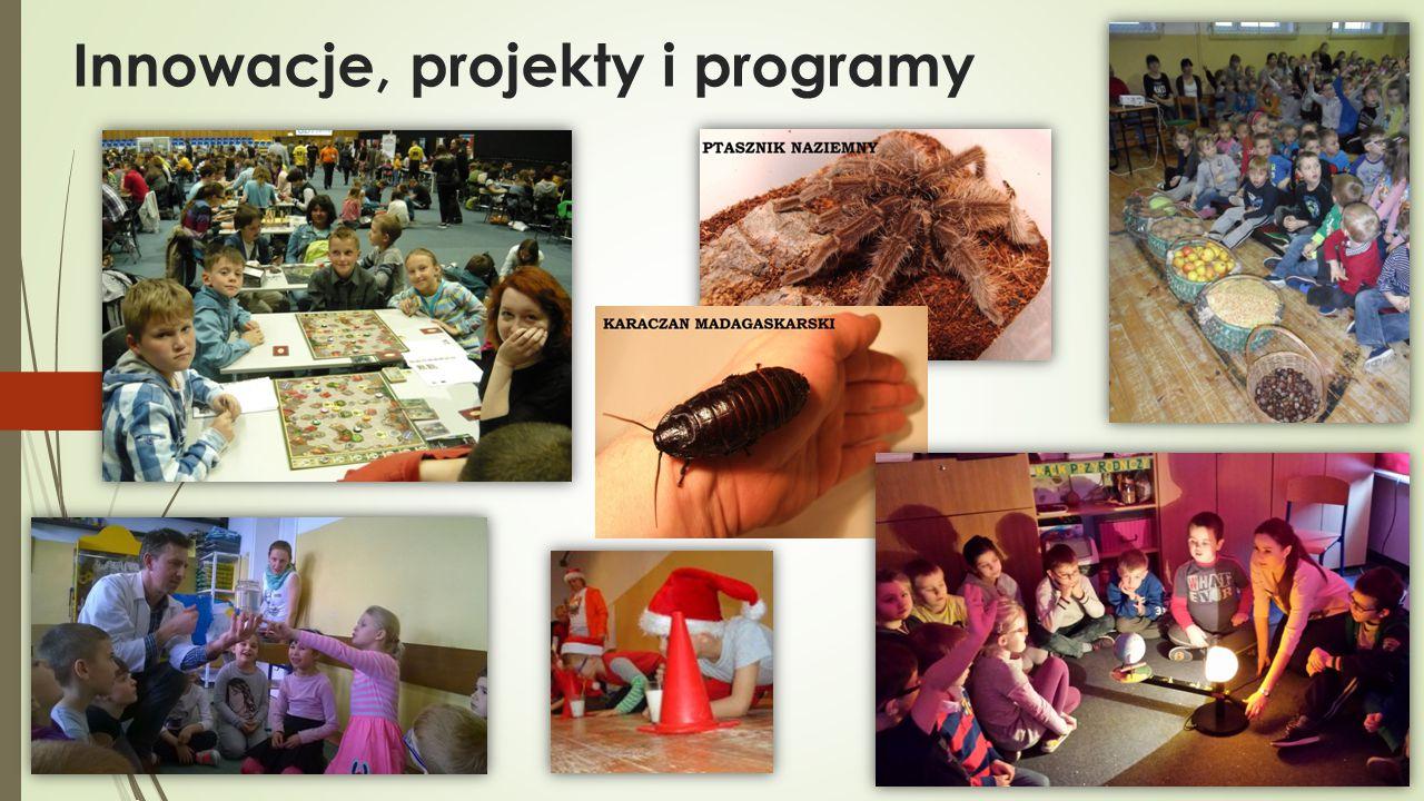 Innowacje, projekty i programy