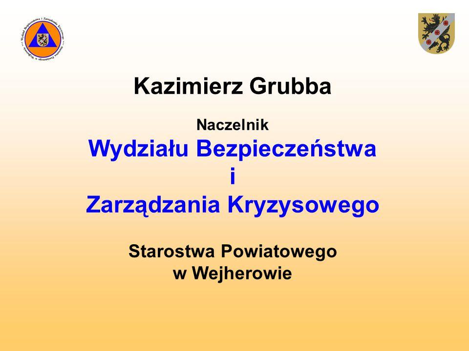 Wydziału Bezpieczeństwa Zarządzania Kryzysowego Starostwa Powiatowego