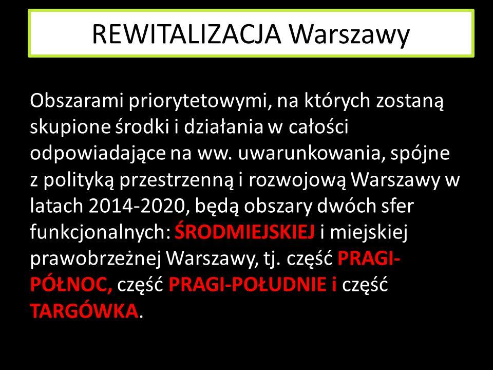 REWITALIZACJA Warszawy