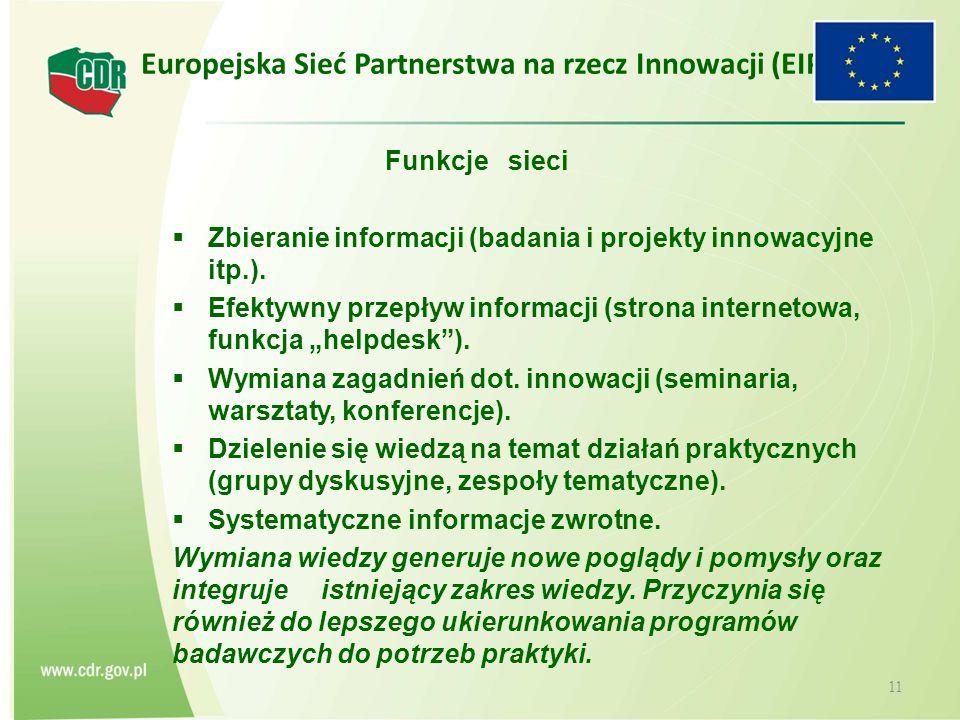 Europejska Sieć Partnerstwa na rzecz Innowacji (EIP)