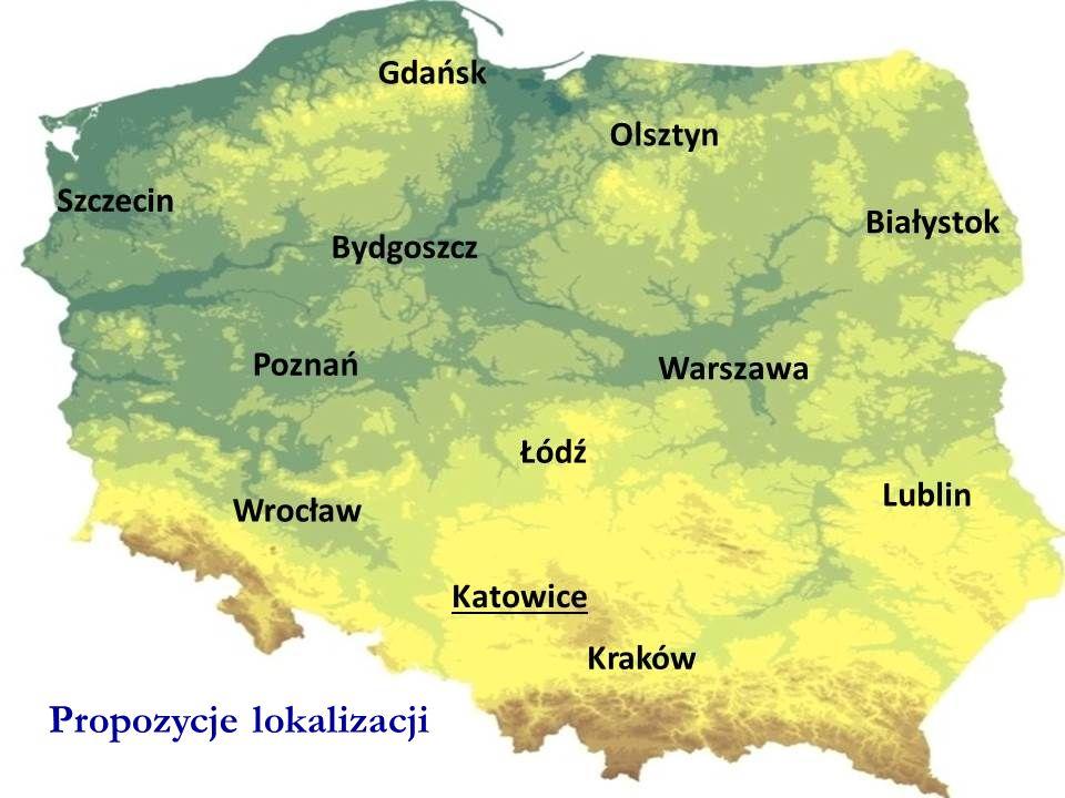 Propozycje lokalizacji