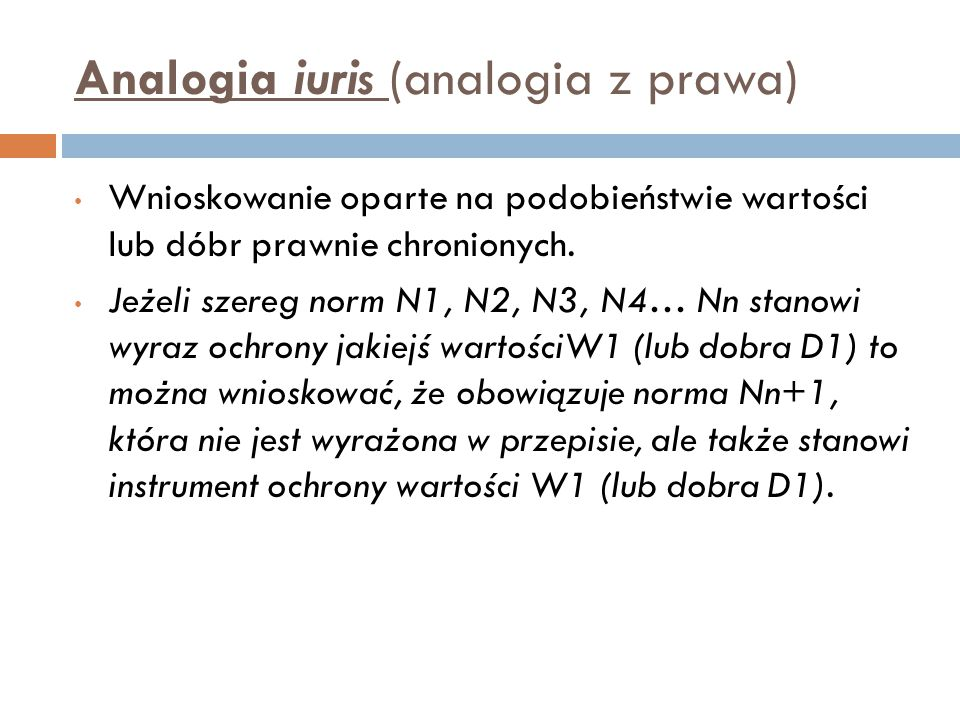 Analogia iuris (analogia z prawa)