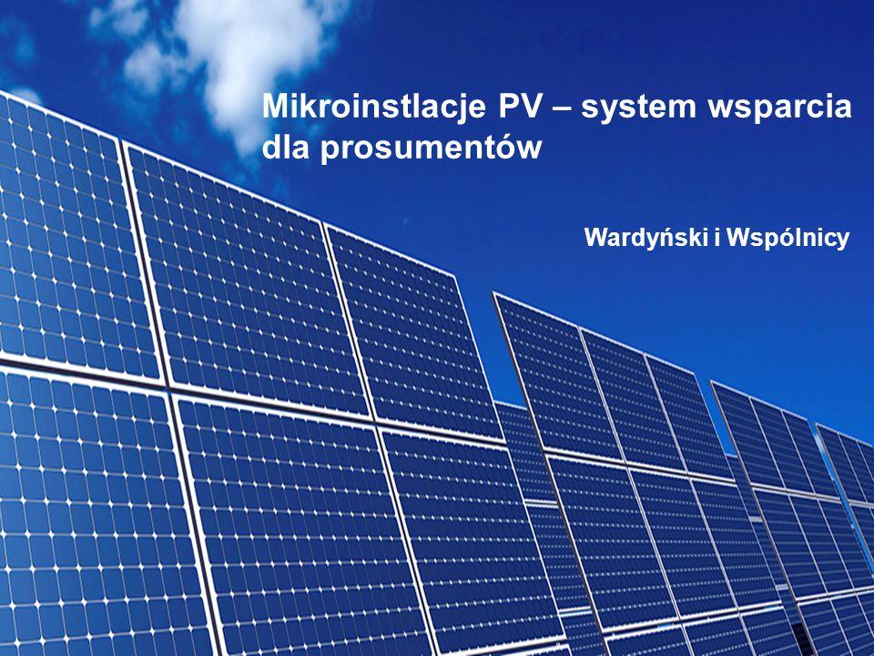 Mikroinstlacje PV – system wsparcia dla prosumentów