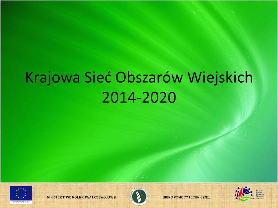 Krajowa Sieć Obszarów Wiejskich 2014-2020