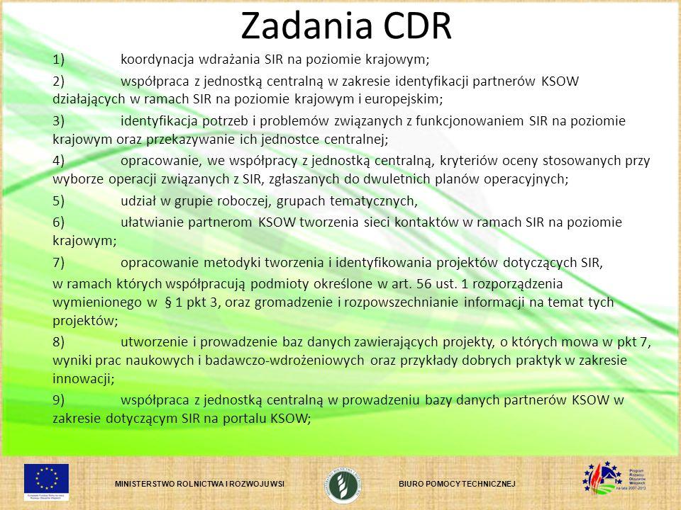 Zadania CDR