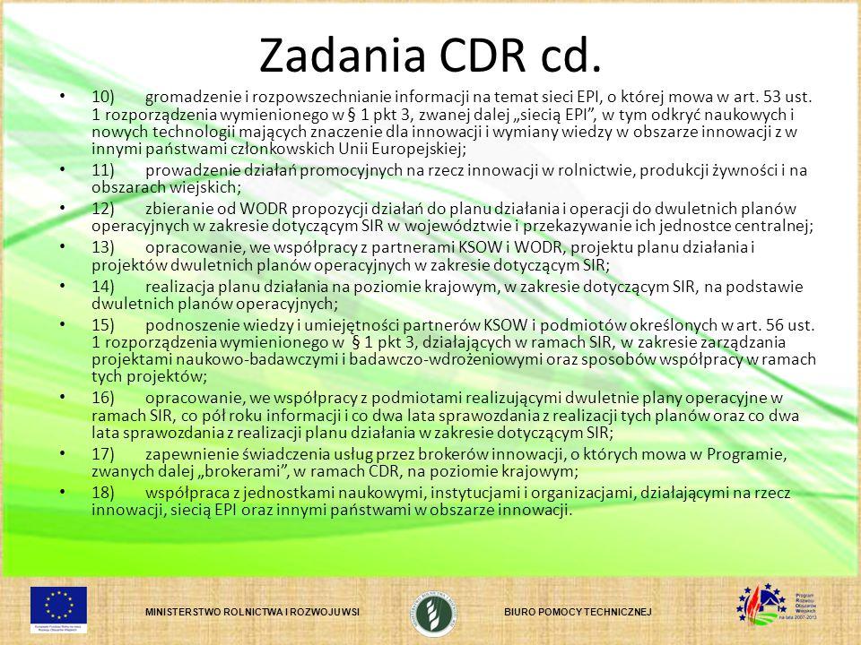 Zadania CDR cd.