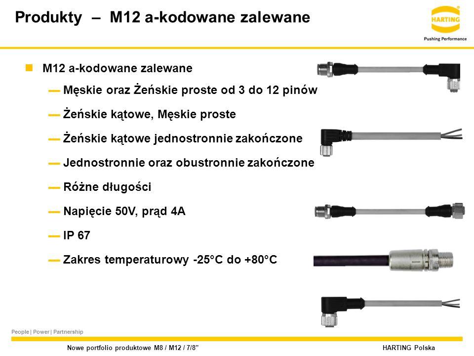 Produkty – M12 a-kodowane zalewane