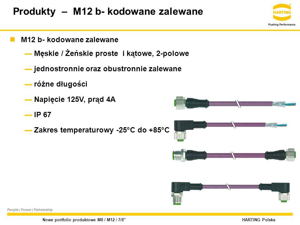 Produkty – M12 b- kodowane zalewane
