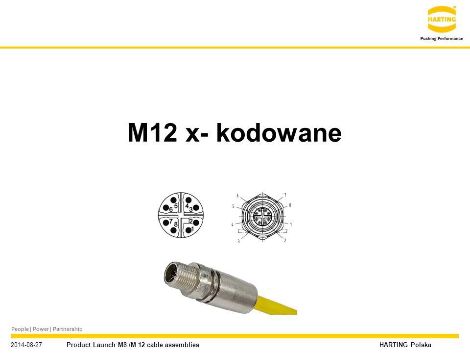 M12 x- kodowane