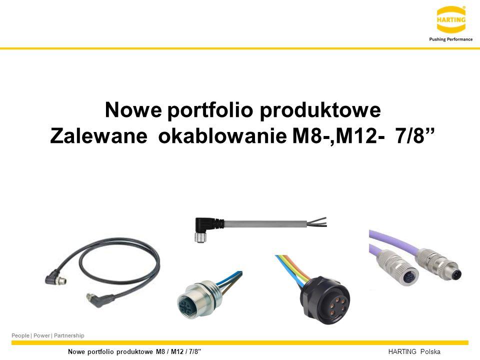 Nowe portfolio produktowe Zalewane okablowanie M8-,M12- 7/8