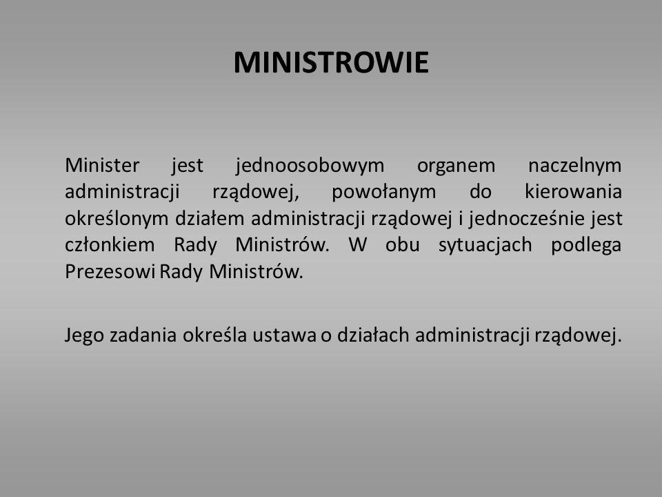 MINISTROWIE