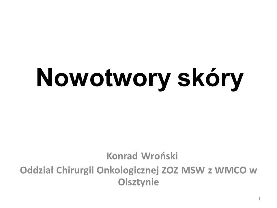 Oddział Chirurgii Onkologicznej ZOZ MSW z WMCO w Olsztynie