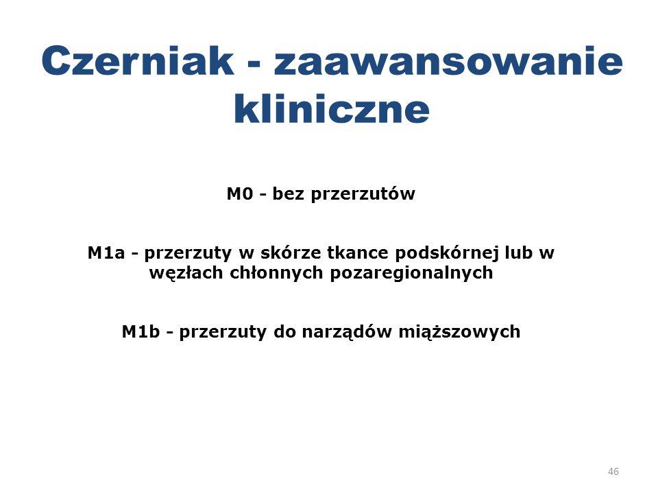 M1b - przerzuty do narządów miąższowych