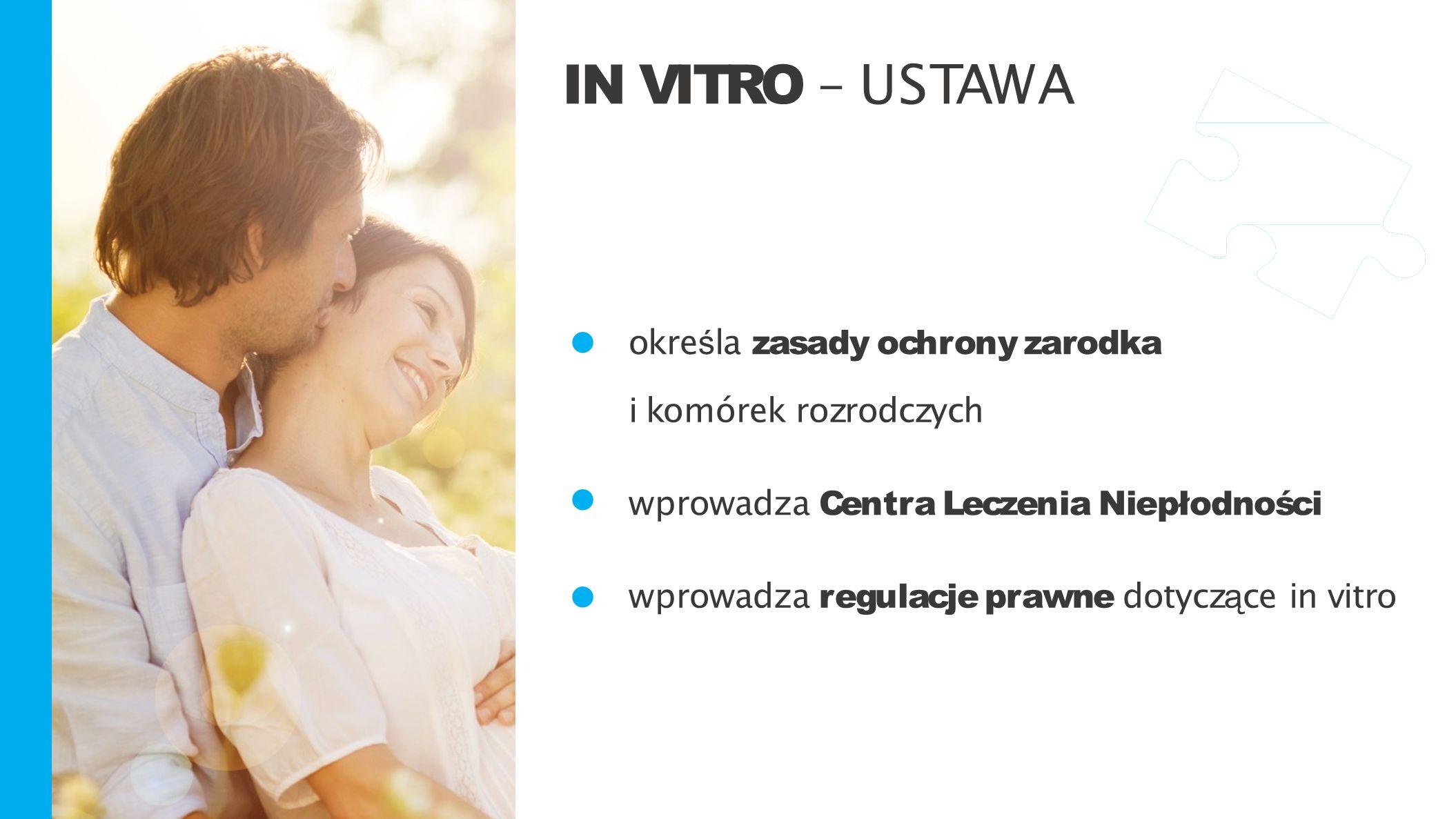 • IN VITRO – USTAWA określa zasady ochrony zarodka