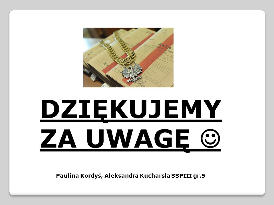 Paulina Kordyś, Aleksandra Kucharsla SSPIII gr.5
