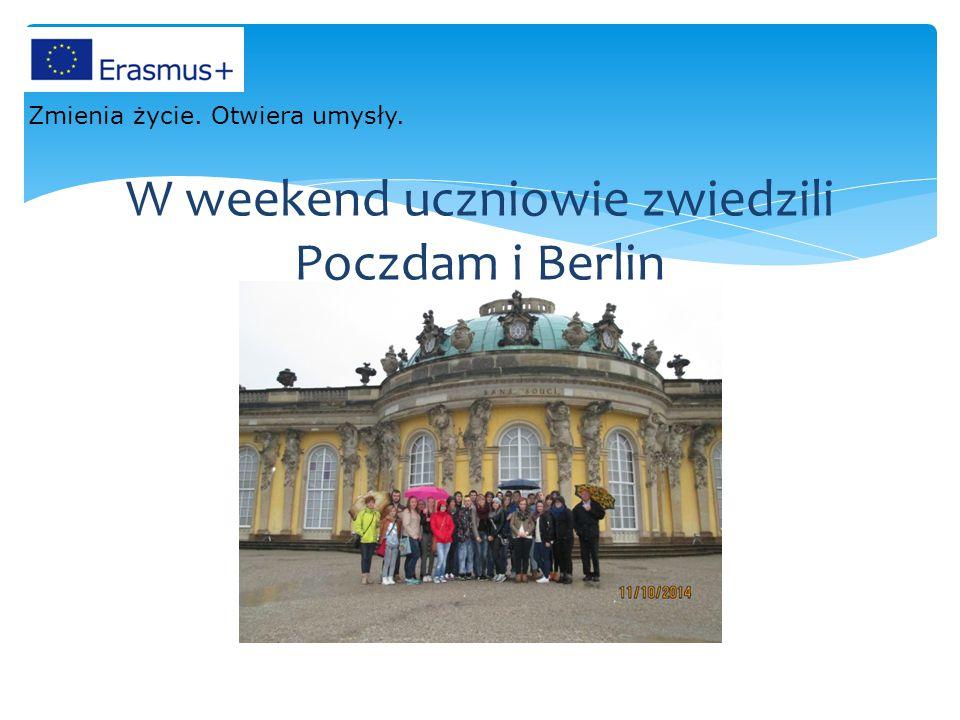 W weekend uczniowie zwiedzili Poczdam i Berlin