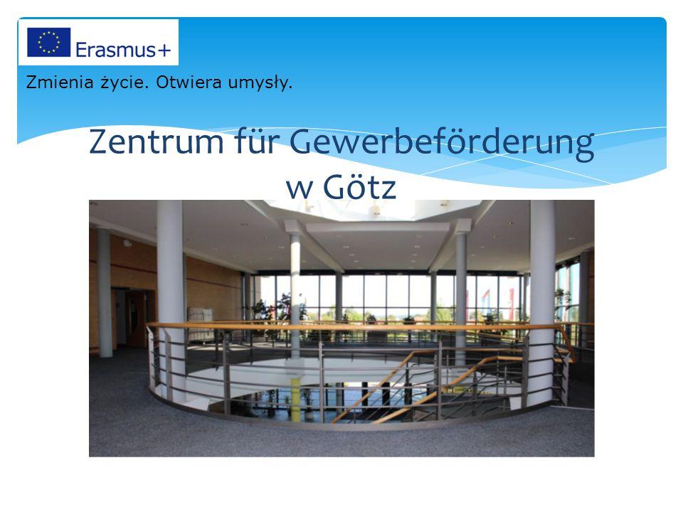 Zentrum für Gewerbeförderung w Götz