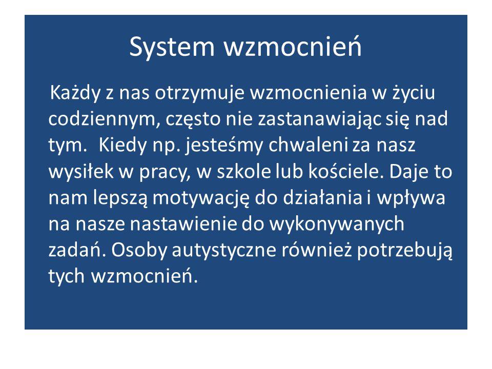 System wzmocnień