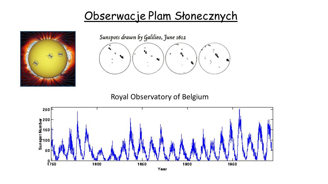 Obserwacje Plam Słonecznych
