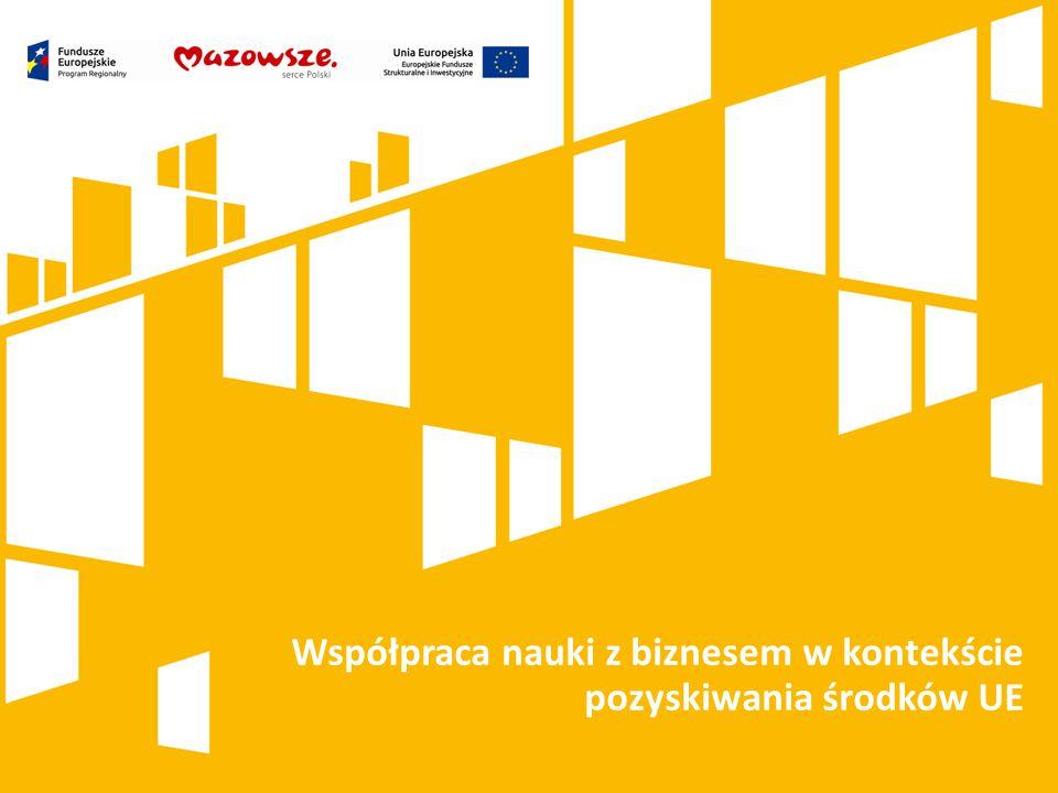 Współpraca nauki z biznesem w kontekście pozyskiwania środków UE