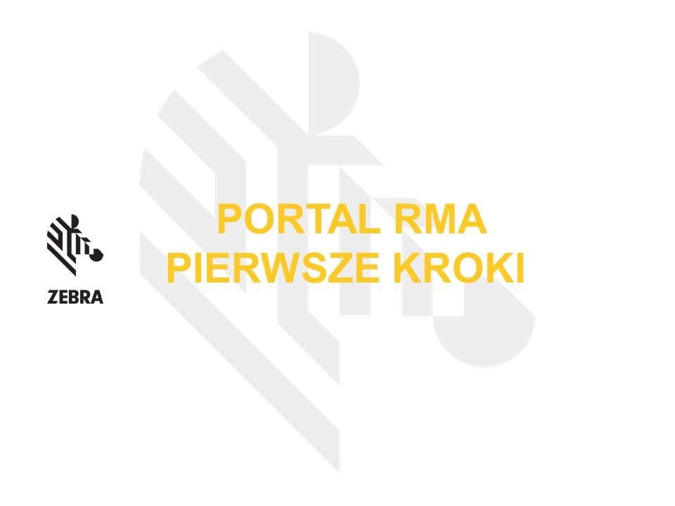PORTAL RMA PIERWSZE KROKI