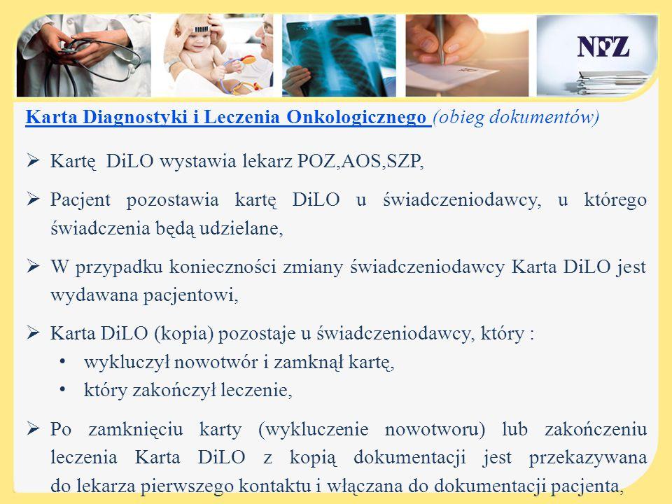 Karta Diagnostyki i Leczenia Onkologicznego (obieg dokumentów)