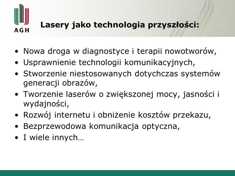 Lasery jako technologia przyszłości: