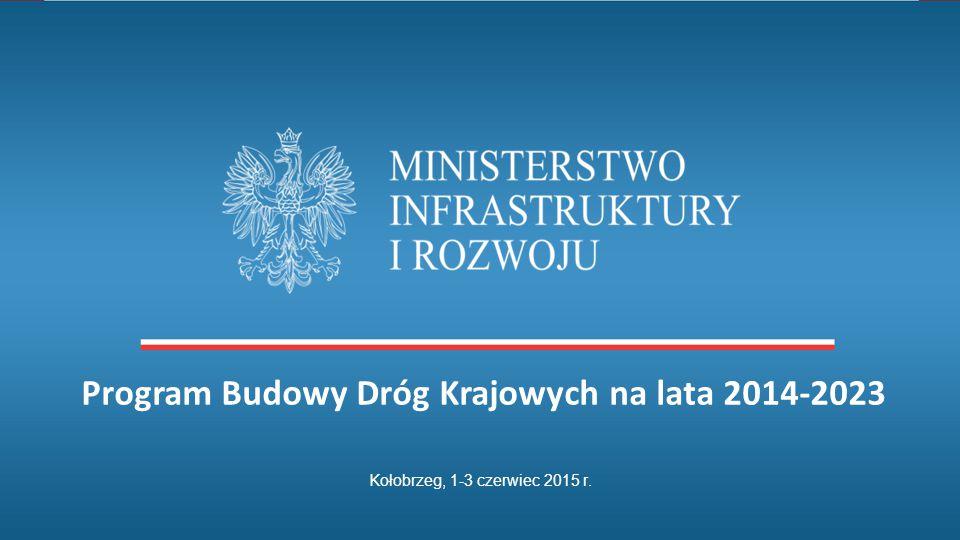 Program Budowy Dróg Krajowych na lata 2014-2023