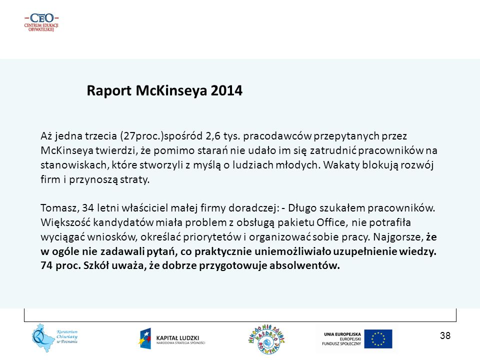 Raport McKinseya 2014