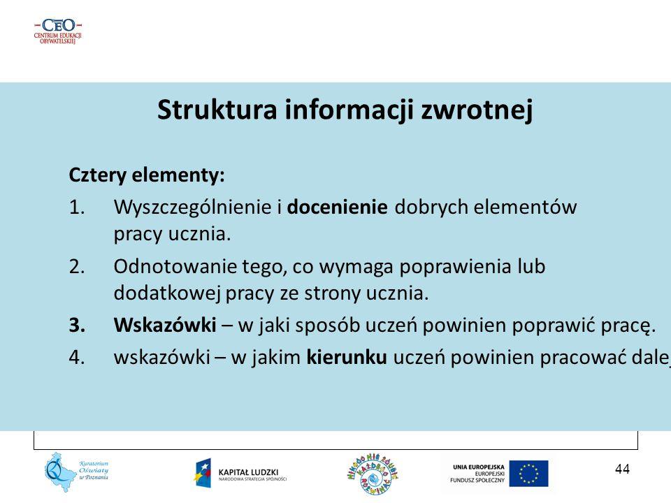 Struktura informacji zwrotnej
