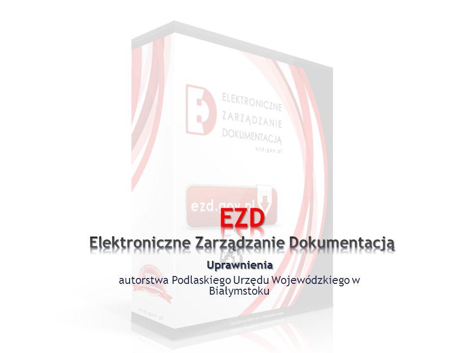 EZD Elektroniczne Zarządzanie Dokumentacją