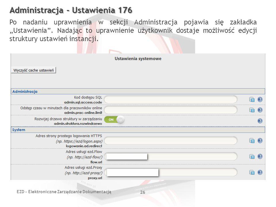 Administracja - Ustawienia 176