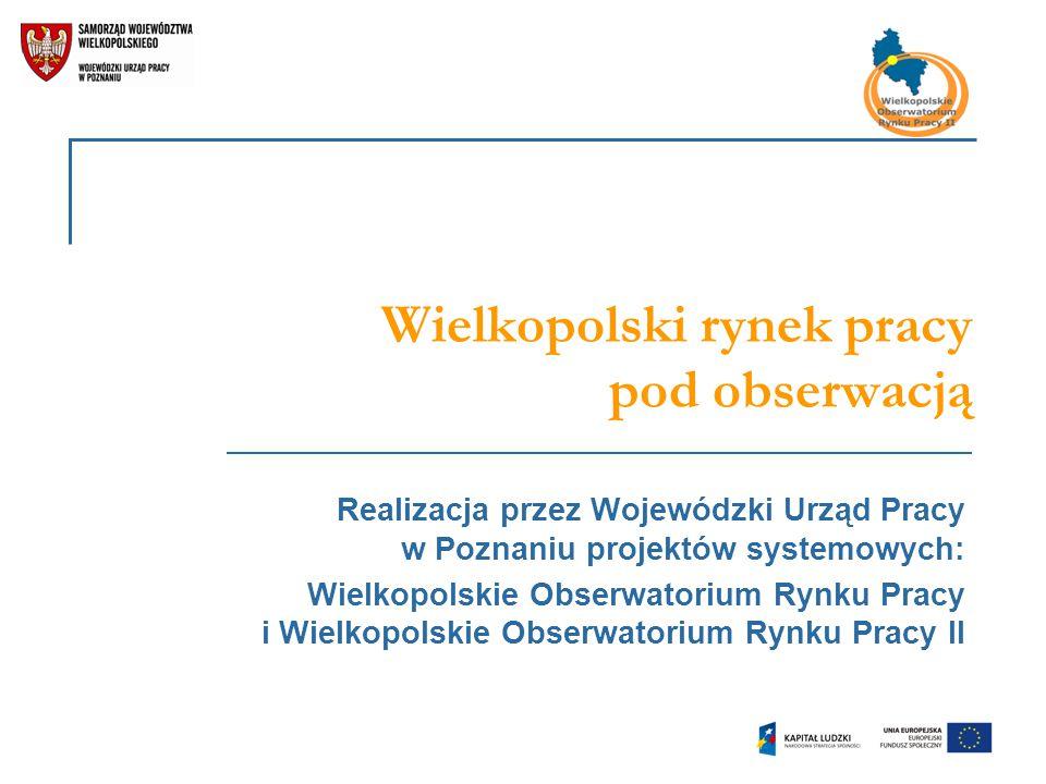 Wielkopolski rynek pracy pod obserwacją
