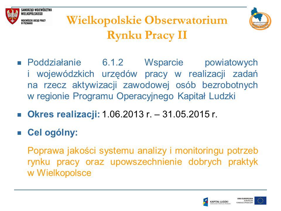 Wielkopolskie Obserwatorium Rynku Pracy II