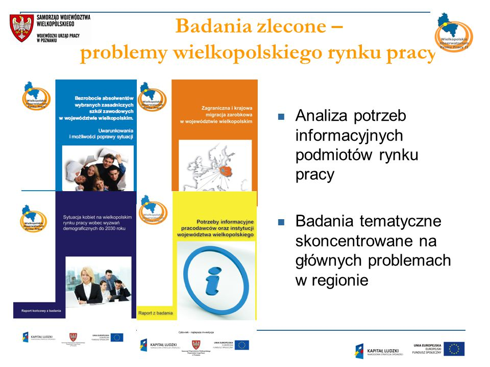 Badania zlecone – problemy wielkopolskiego rynku pracy