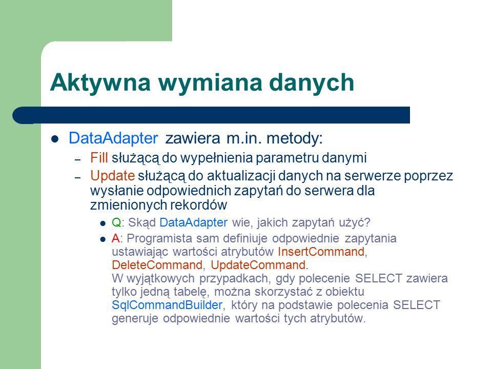 Aktywna wymiana danych