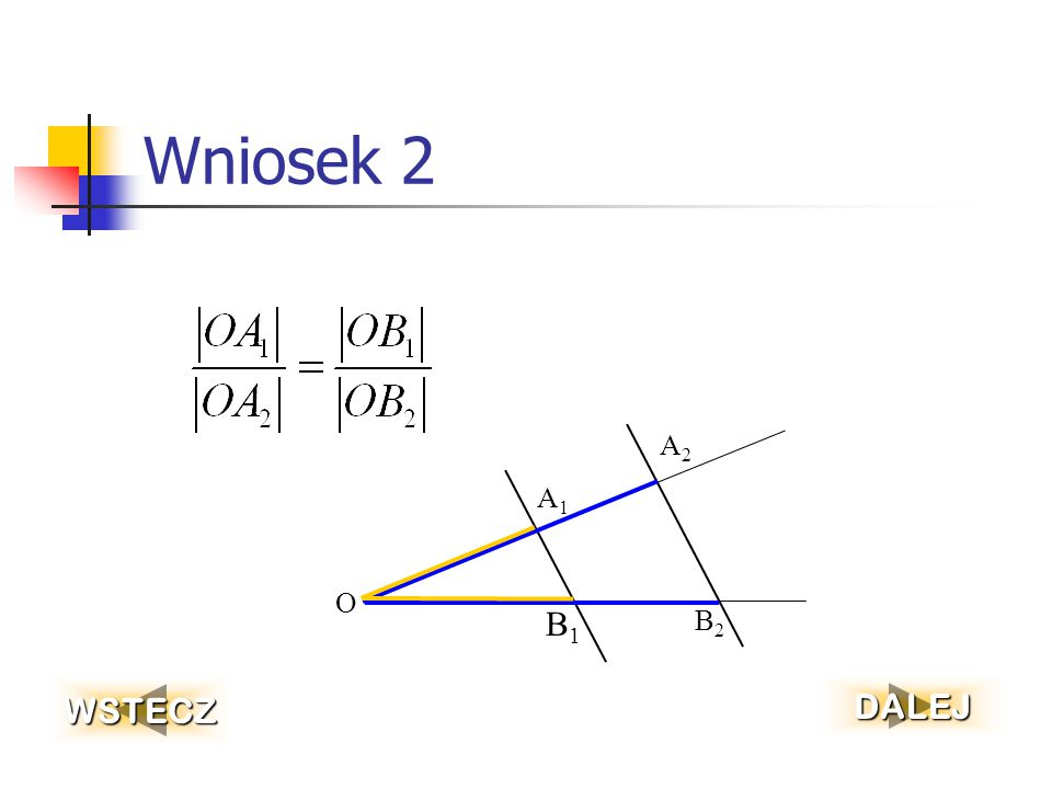Wniosek 2 O A1 A2 B2 B1 WSTECZ DALEJ