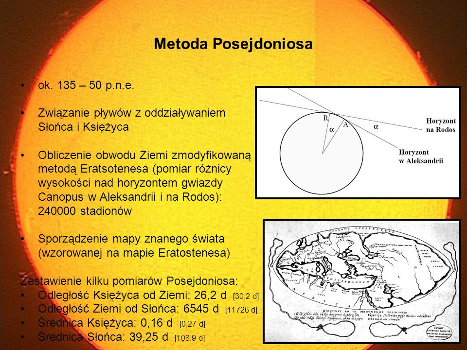 Metoda Posejdoniosa ok. 135 – 50 p.n.e.