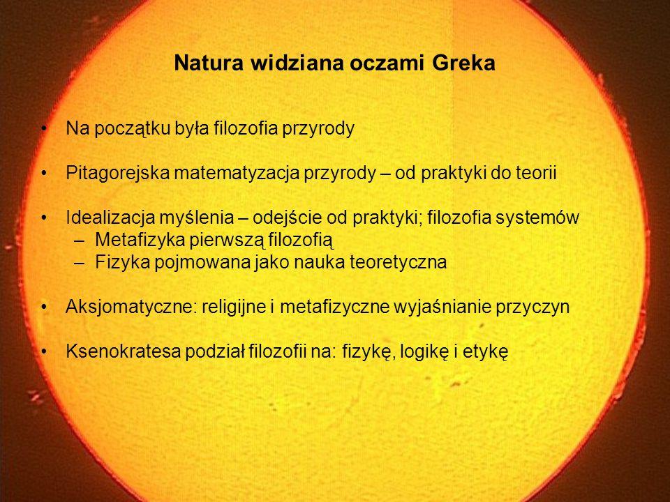 Natura widziana oczami Greka