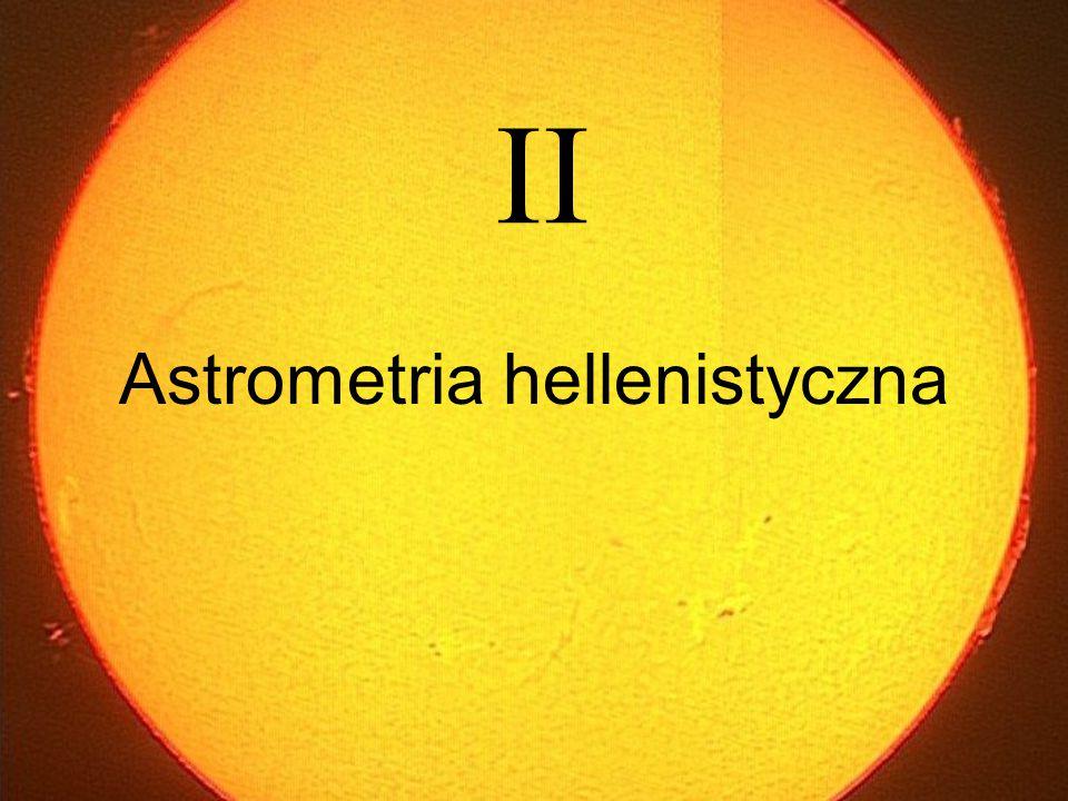 Astrometria hellenistyczna